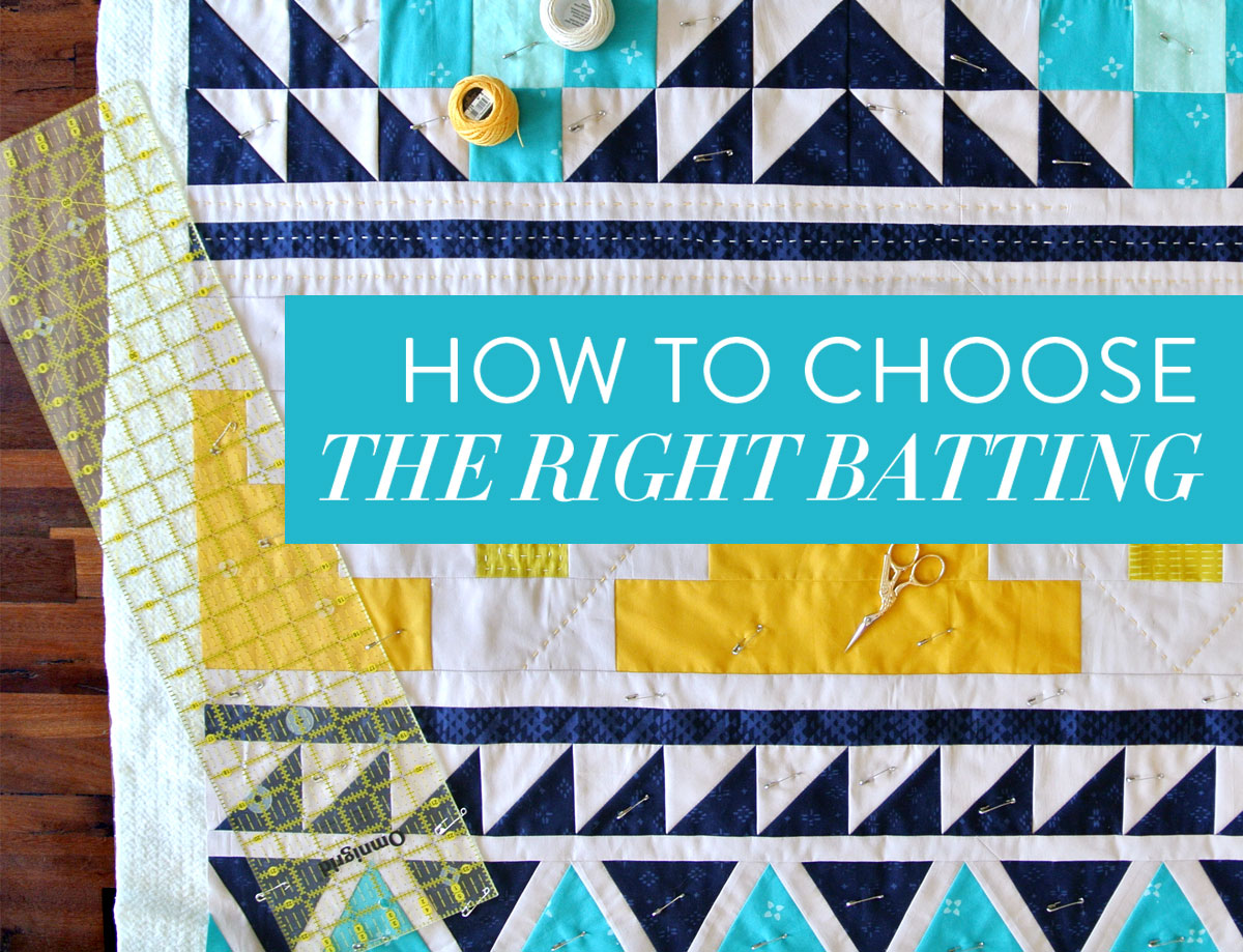 0ab98ba6 How to Choose the Right Quilt Batting - Suzy Quilts