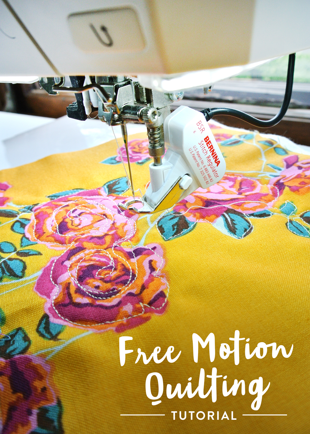 Free Motion Quilting Tutorial for Beginners - Suzy Quilts : freehand quilting with sewing machine - Adamdwight.com