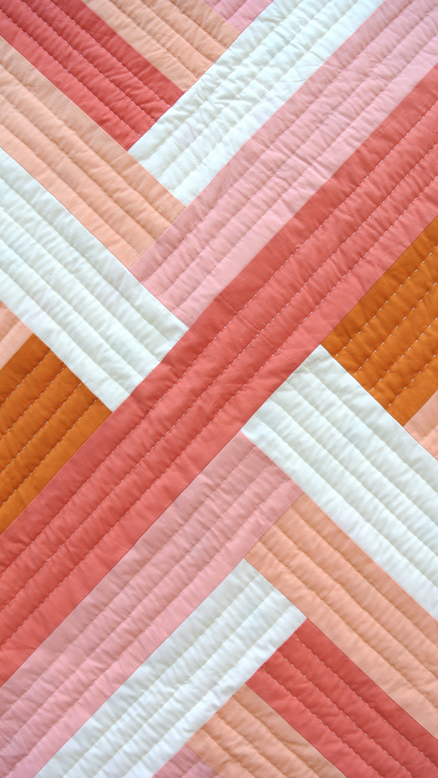 Maypole_Creamsicle_Quilted_Wallpaper