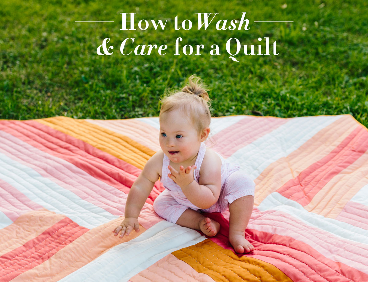 How to Wash and Care for a Quilt…The Right Way! - Suzy Quilts : how to wash quilt - Adamdwight.com