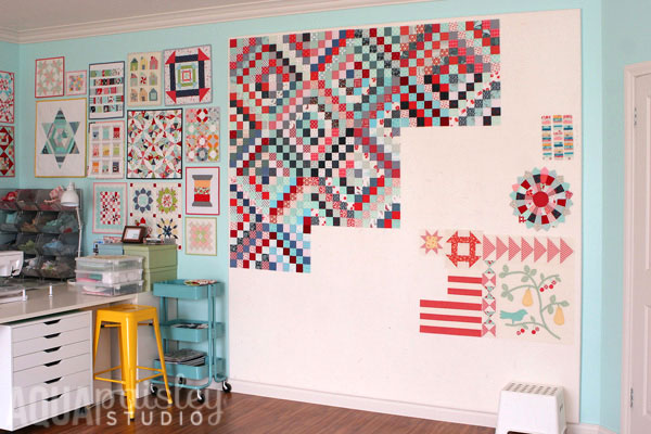 How to Make a Quilt Design Wall - Suzy Quilts : portable quilt design wall - Adamdwight.com