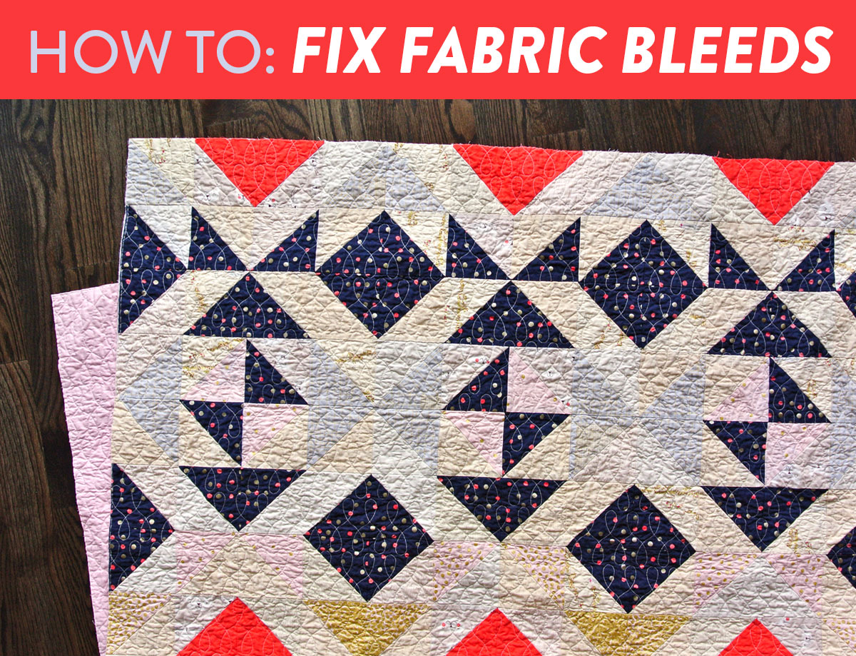 a1c6c283 How to Fix Fabric Bleeds - Suzy Quilts