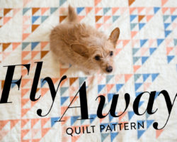Fly Away Quilt Pattern: Use Up Those Scraps!