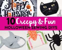 10 Creepy & Fun Halloween Sewing DIYs