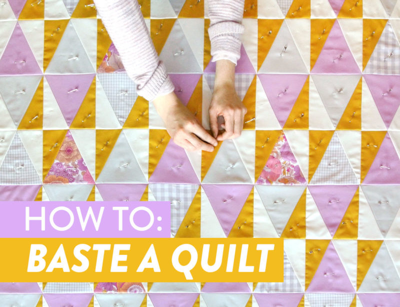 How-to-Baste-a-Quilt