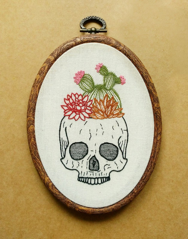 Skull Cross Stitch