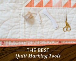 Quilt Marking Tools: Different Ways to Draw Guidelines