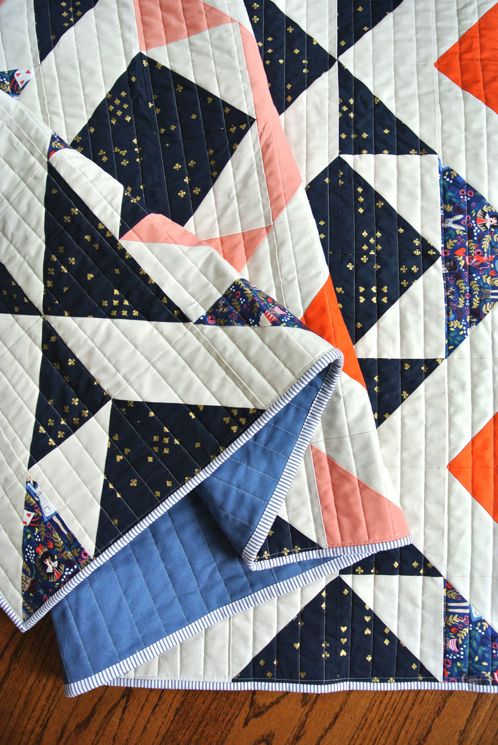 Nordic-Triangles-Quilt-tutorial