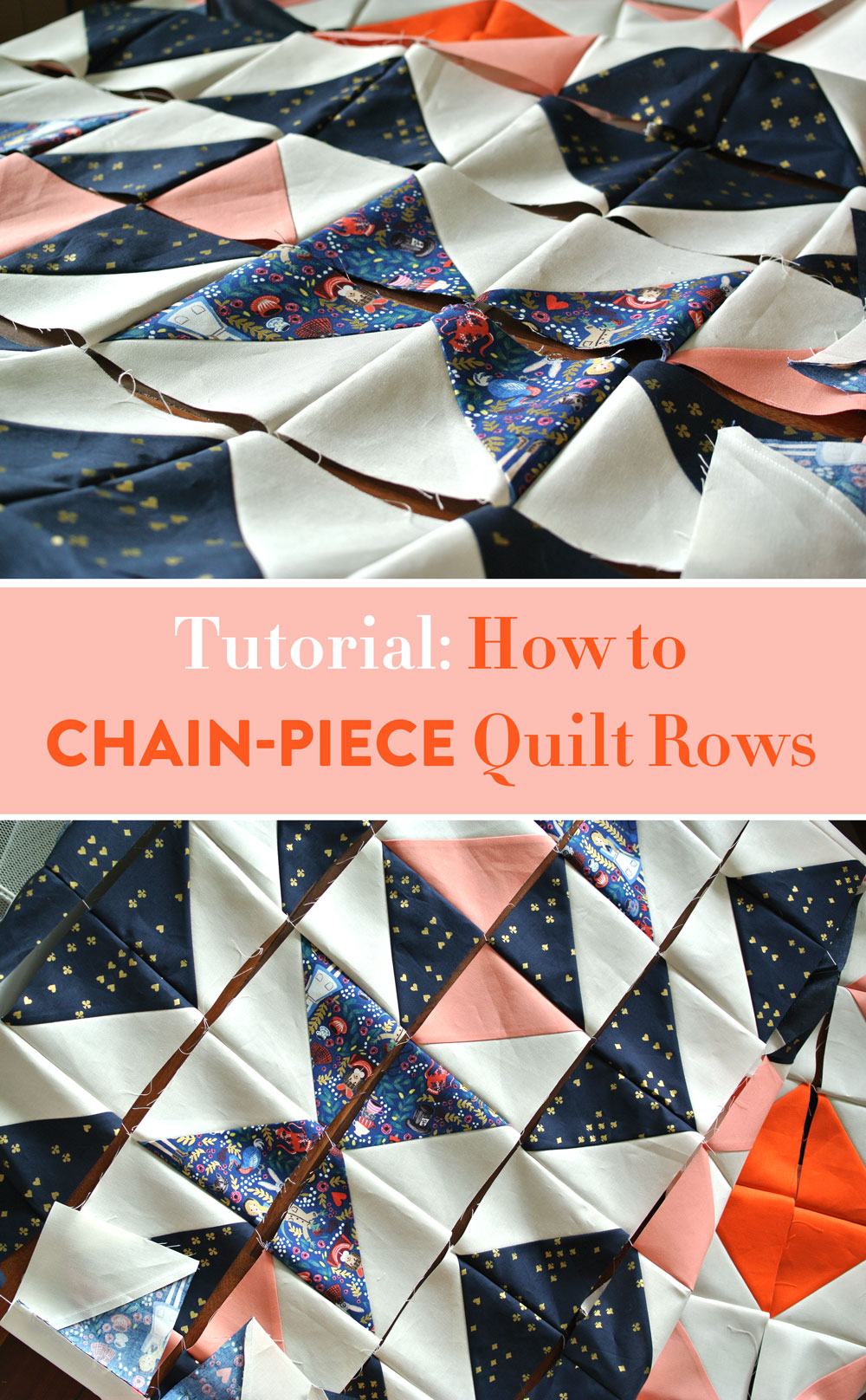 Quilting-tutorial-chain-piece-rows