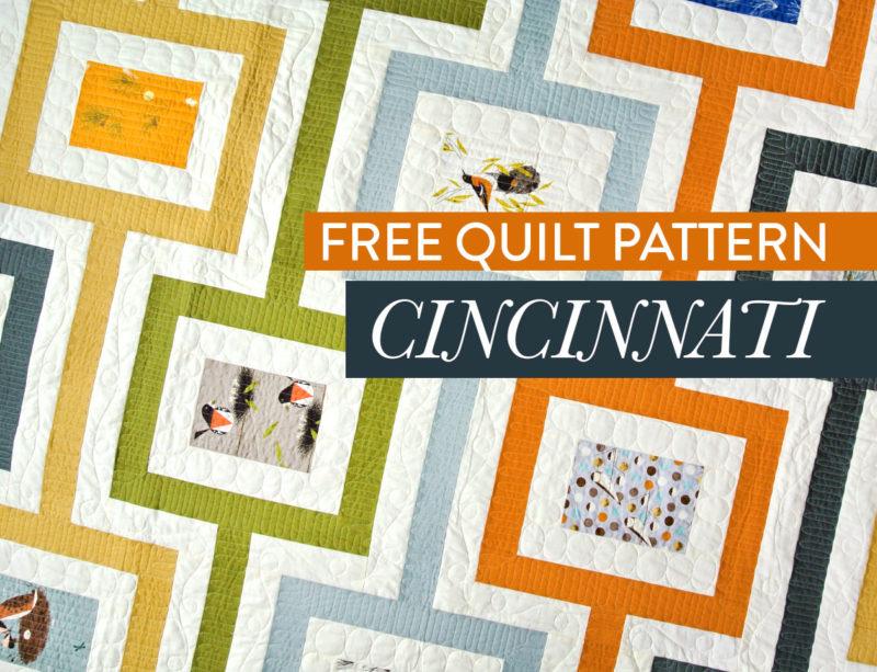 Free-Cincinnati-Quilt-Pattern