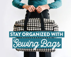 Bluefig Sewing Bags – Stylish and Practical!