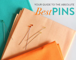 The 2 Absolute Best Pins for Quilting