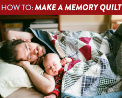3 Easy Steps to Make a Memory Quilt