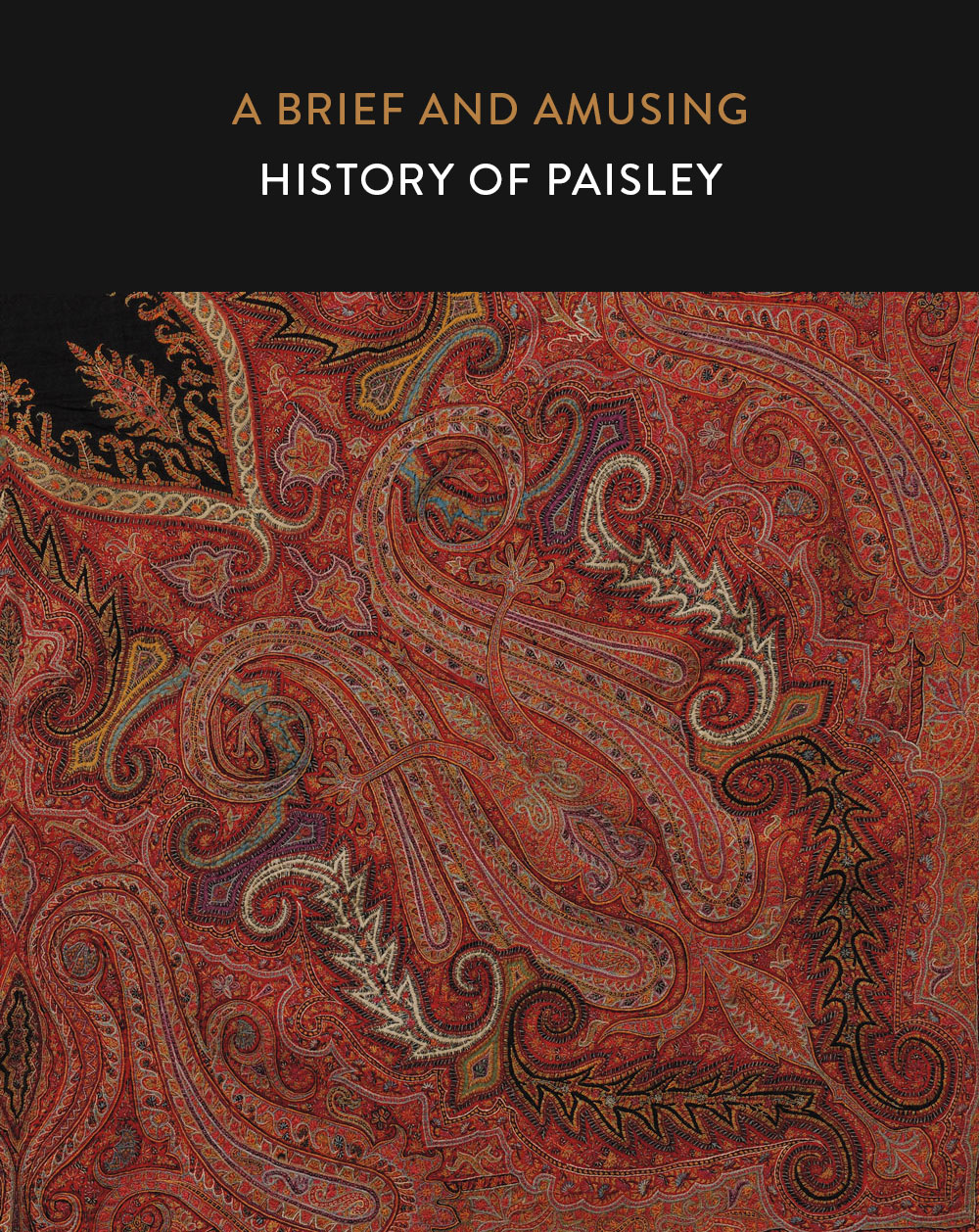 A Brief and Amusing History of Paisley | Suzy Quilts https://suzyquilts.com/history-of-paisley