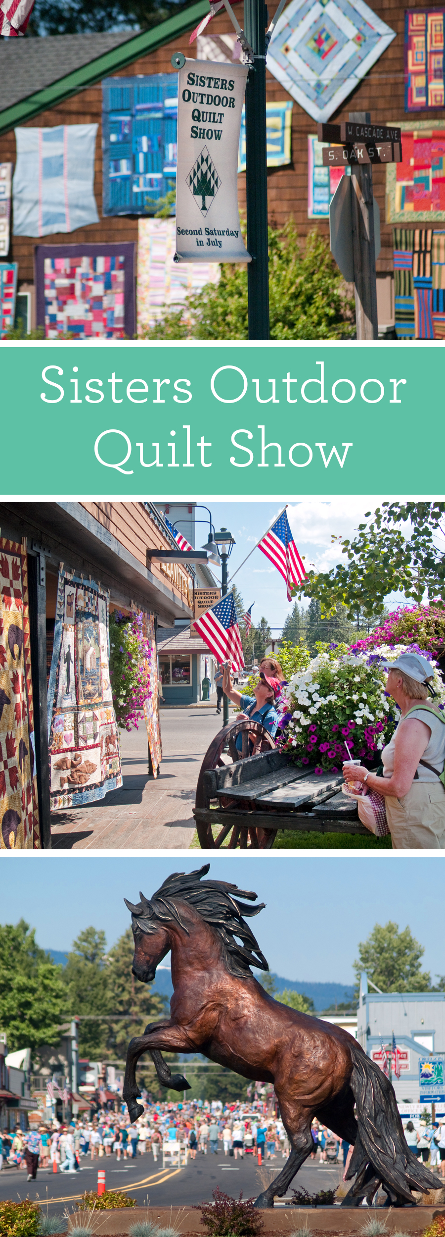 Experience the Sisters Outdoor Quilt Show Like Never Before - Suzy ... : sister quilt show - Adamdwight.com