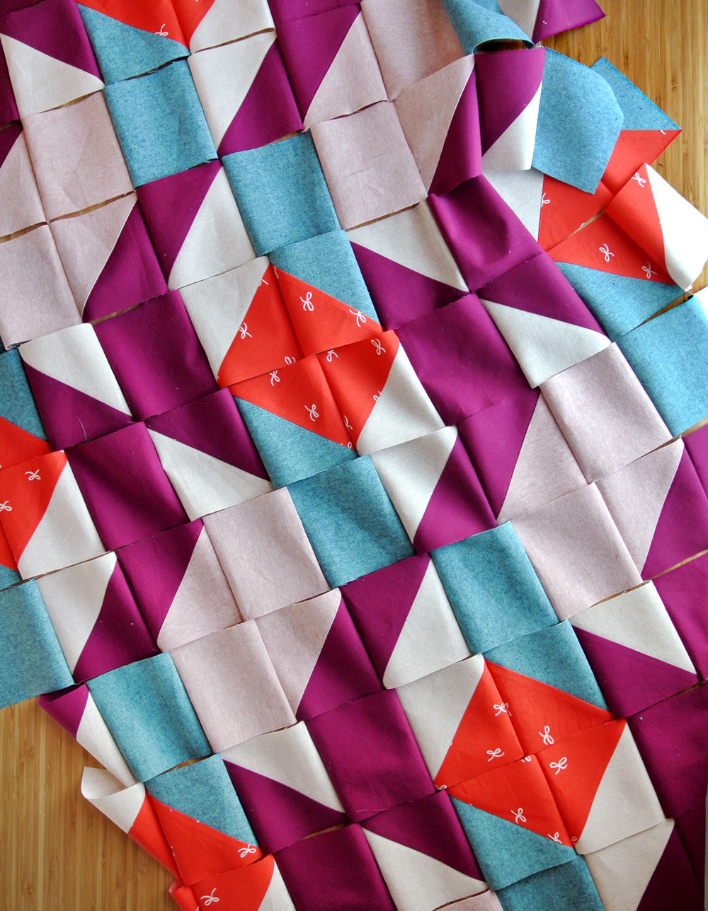 chain-piece-rows-quilting