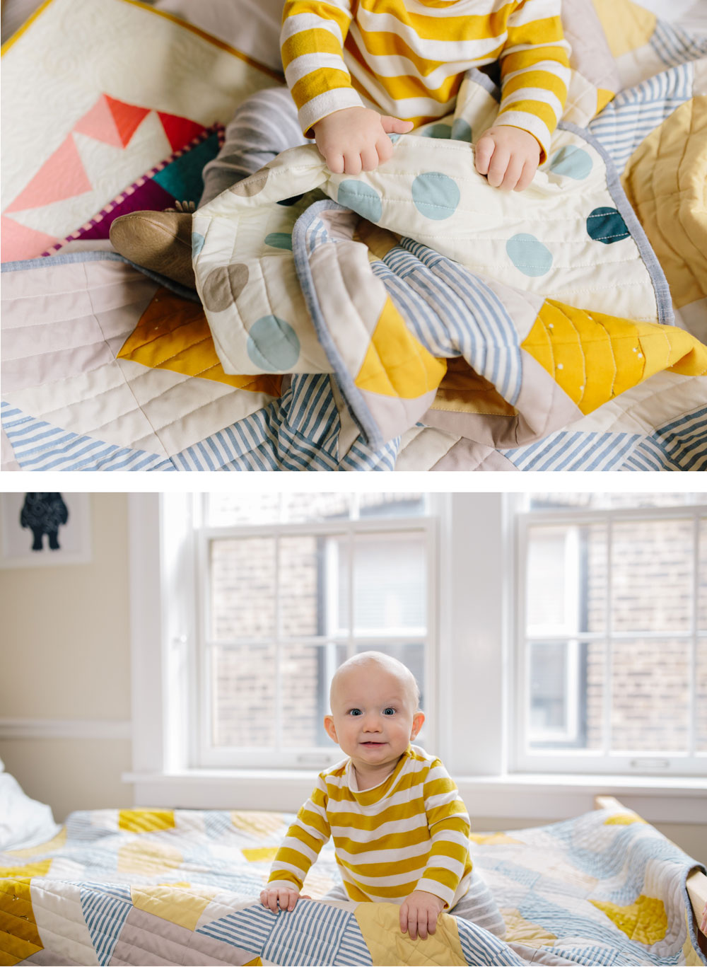 yellow-and-gray-baby-quilt