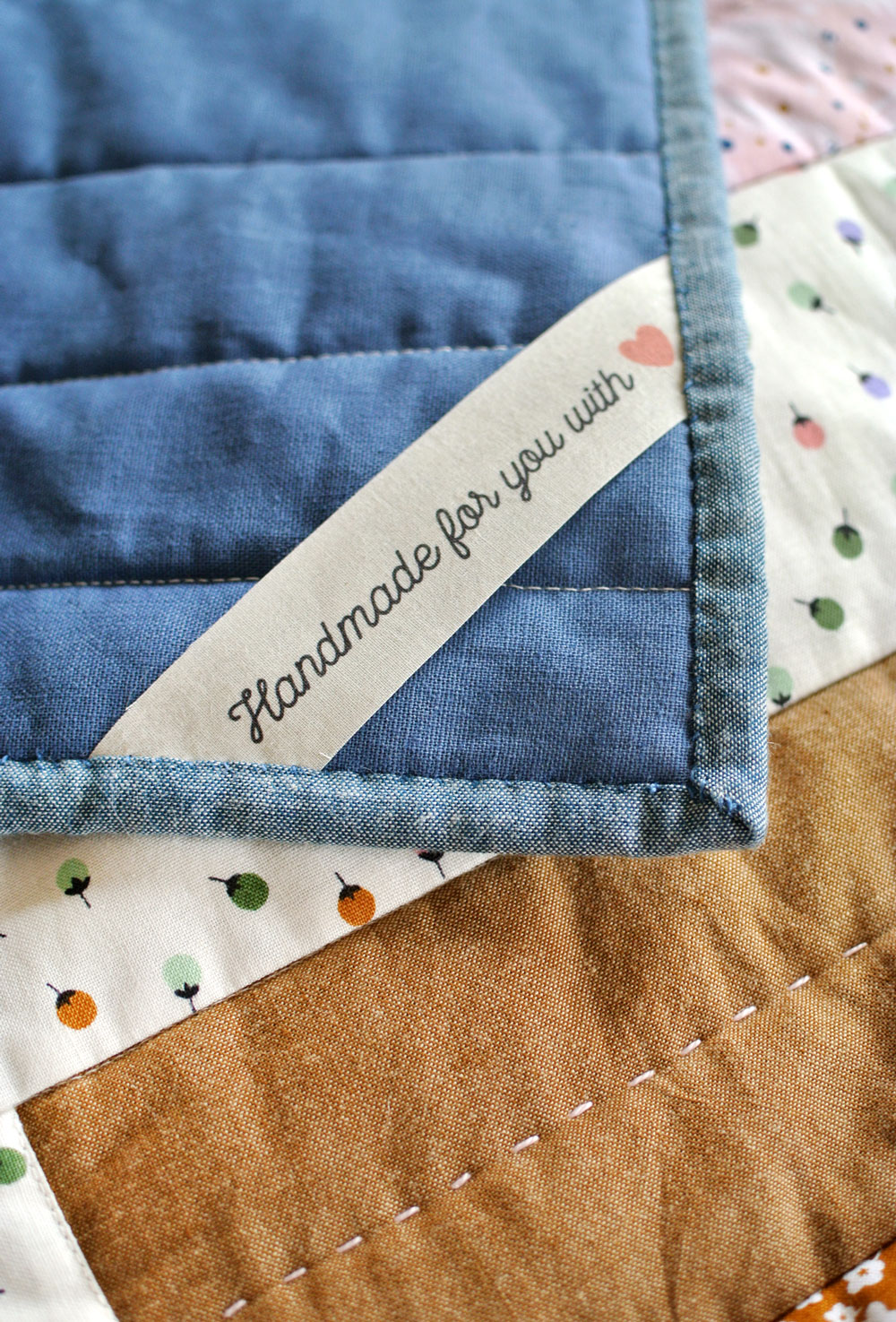Print this free quilt label at home