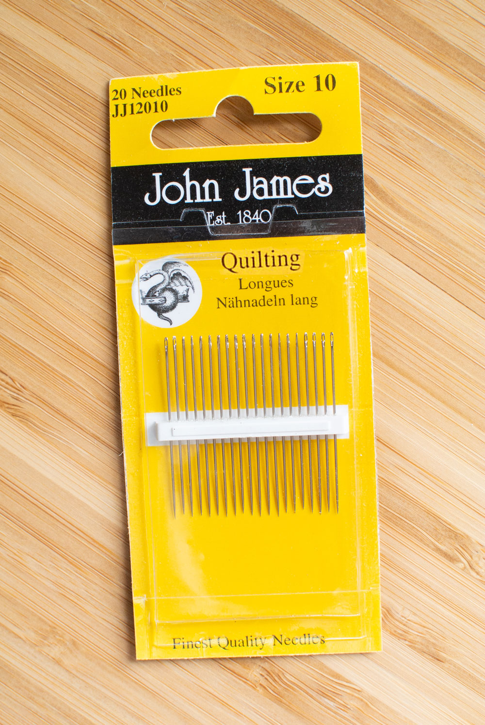 A list of the best quality quilting needles