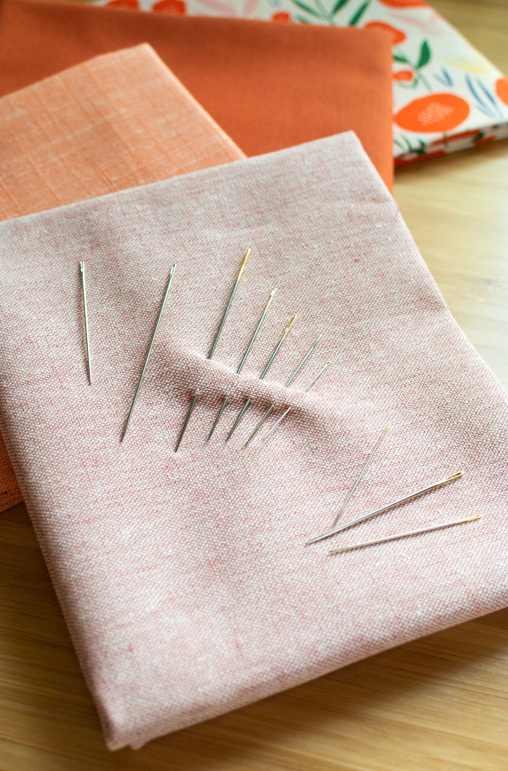 Everything you need to know about hand quilting needles. | Suzy Quilts