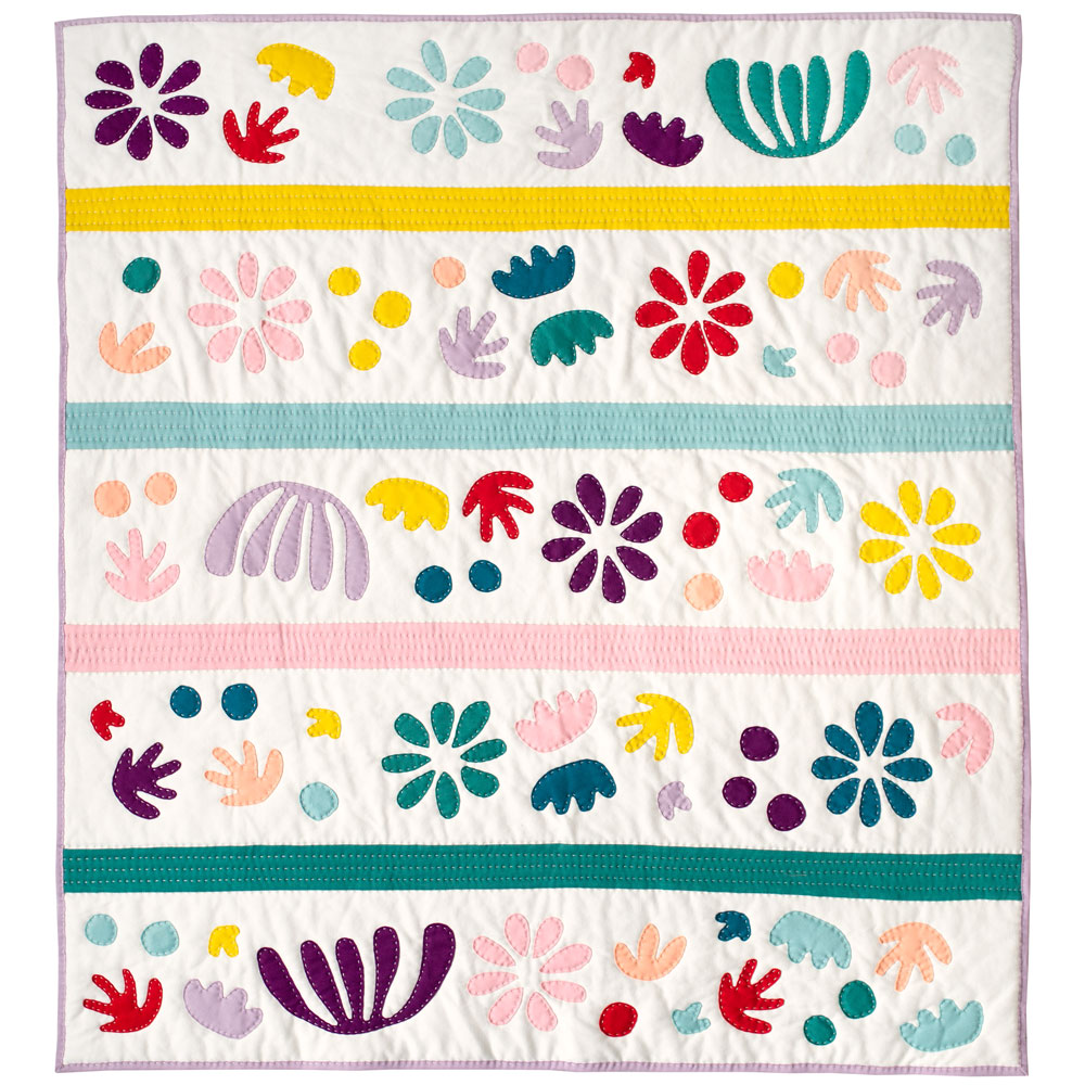 Bohemian Garden Quilt Pattern Download Suzy Quilts