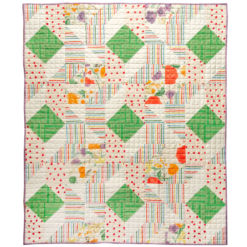 Handmade Boho Flowers Quilt