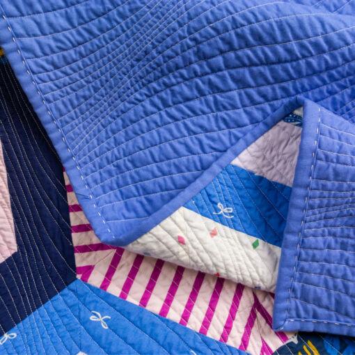 handmade purple quilt for sale
