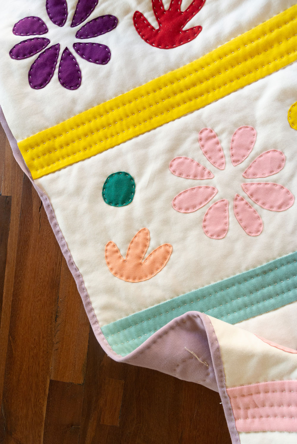 learn to quilt with knit!