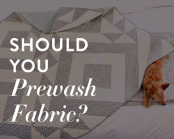Should You Prewash Fabric Before Quilting?