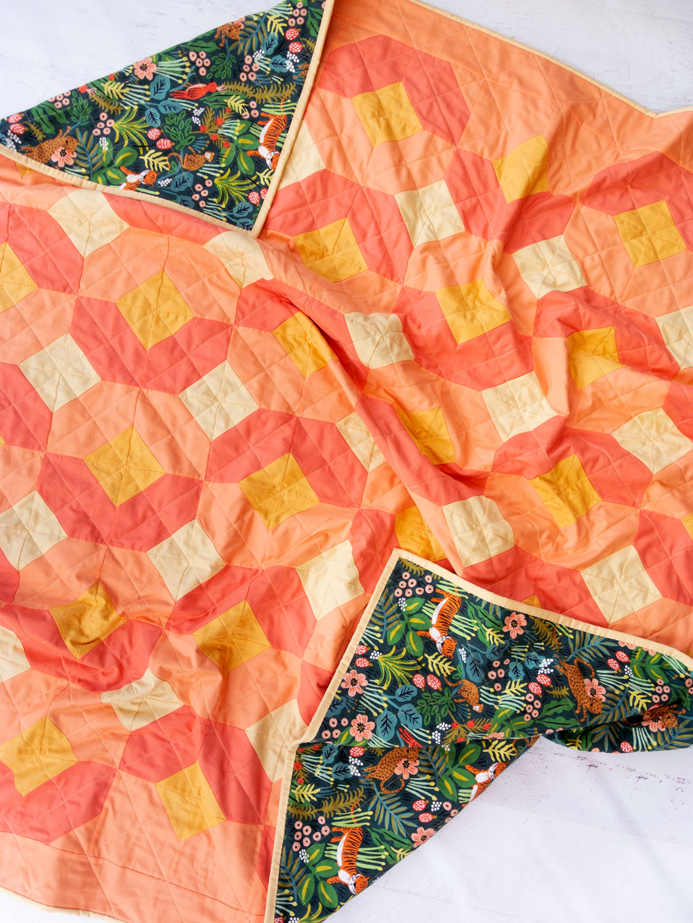 Tips for quilting with canvas!