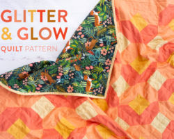 Glitter & Glow Quilt Pattern – Use Your Scraps!
