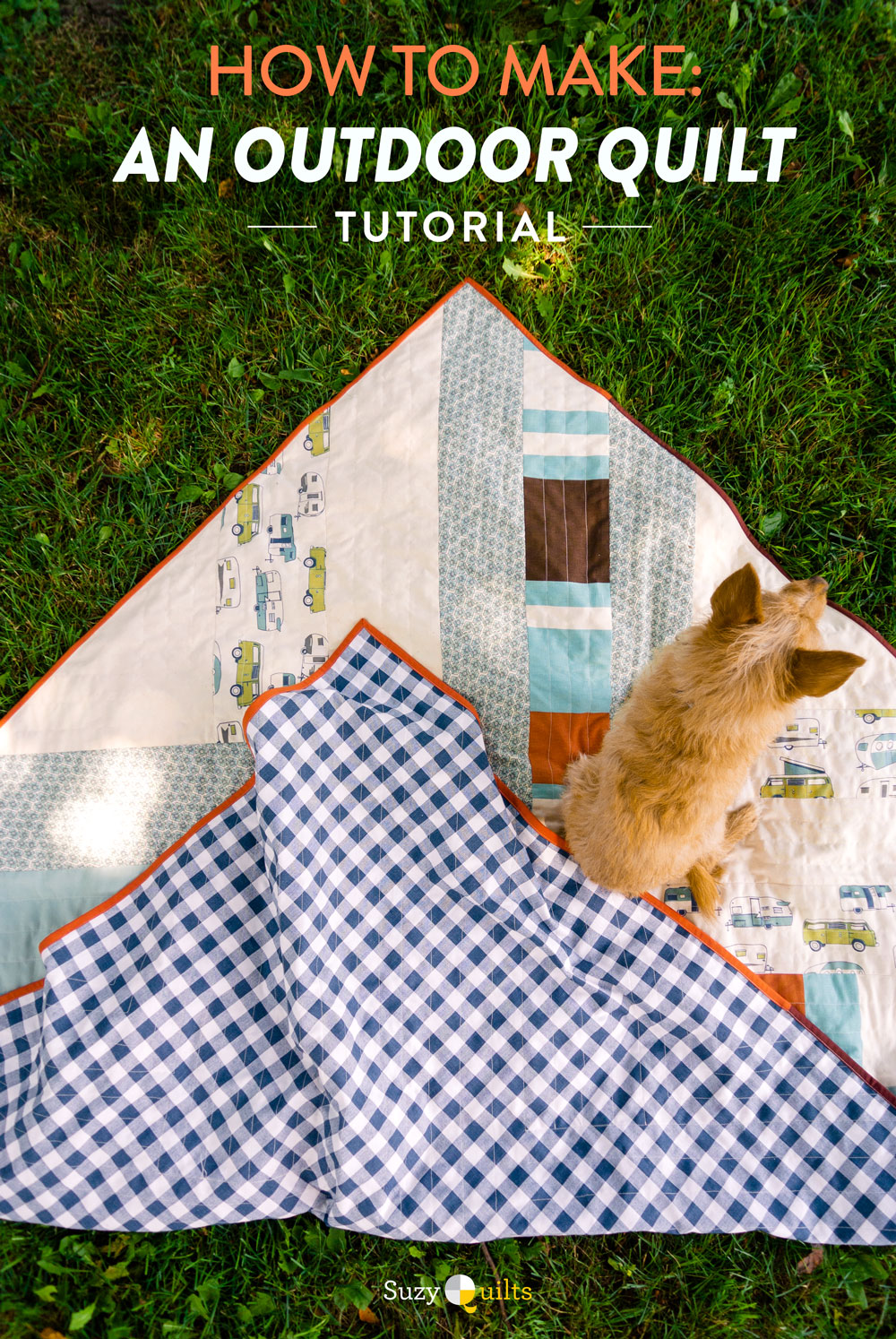 Make an outdoor quilt using canvas! Tips, tricks, gear, notions and all of the things you need to know to make a durable quilt perfect for the outdoors.