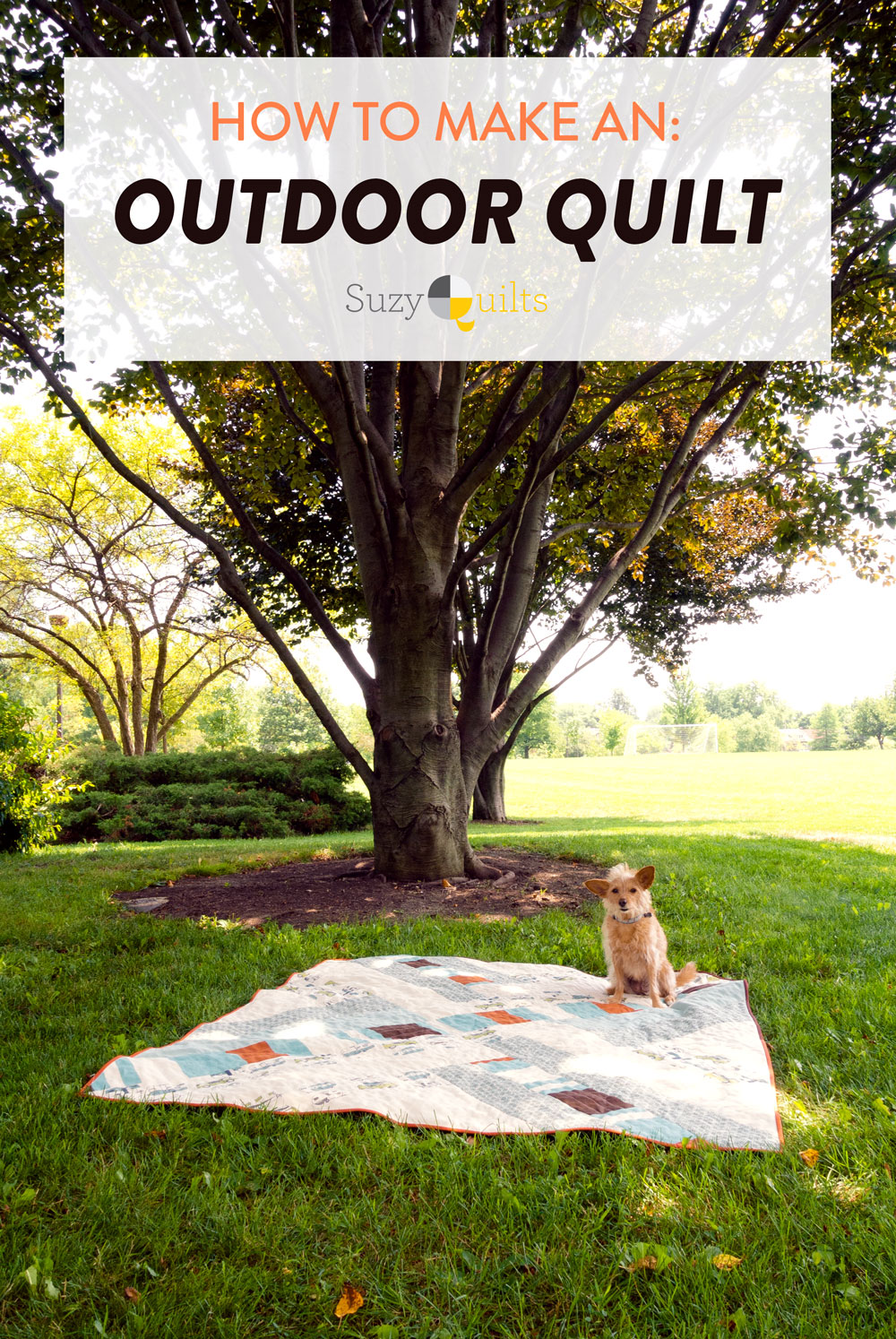 Make an outdoor quilt using canvas! Tips, tricks, gear, notions and all of the things you need to know to make a durable quilt perfect for the outdoors. | Suzy Quilts https://suzyquilts.com/make-an-outdoor-quilt-guide-to-canvas