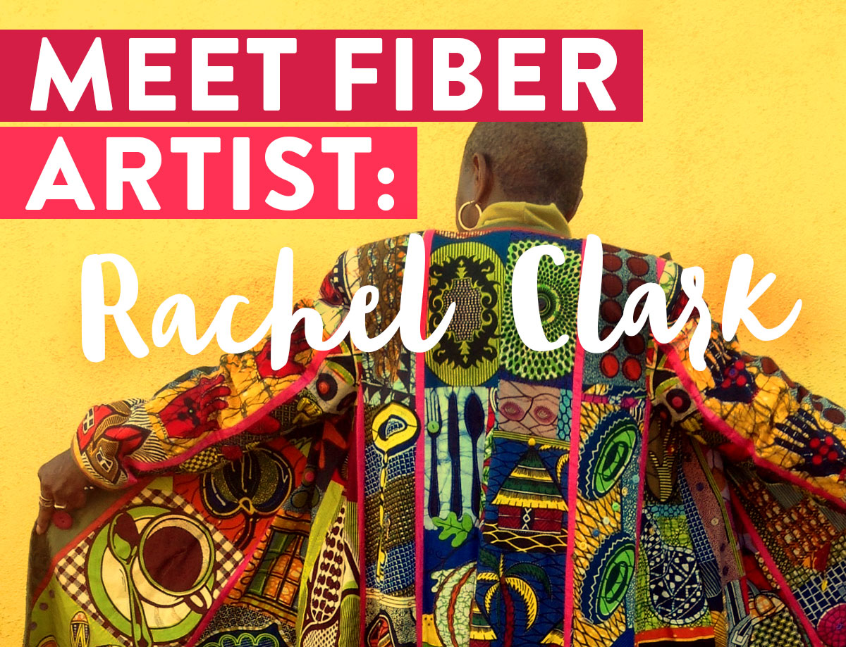 Rachel Clark is an amazing fiber artist who combines quilting techniques with garment sewing.