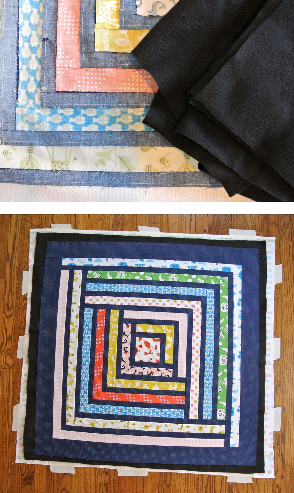 The truth about when and why to use black batting in a quilt. | Suzy Quilts https://suzyquilts.com/truth-about-black-batting/