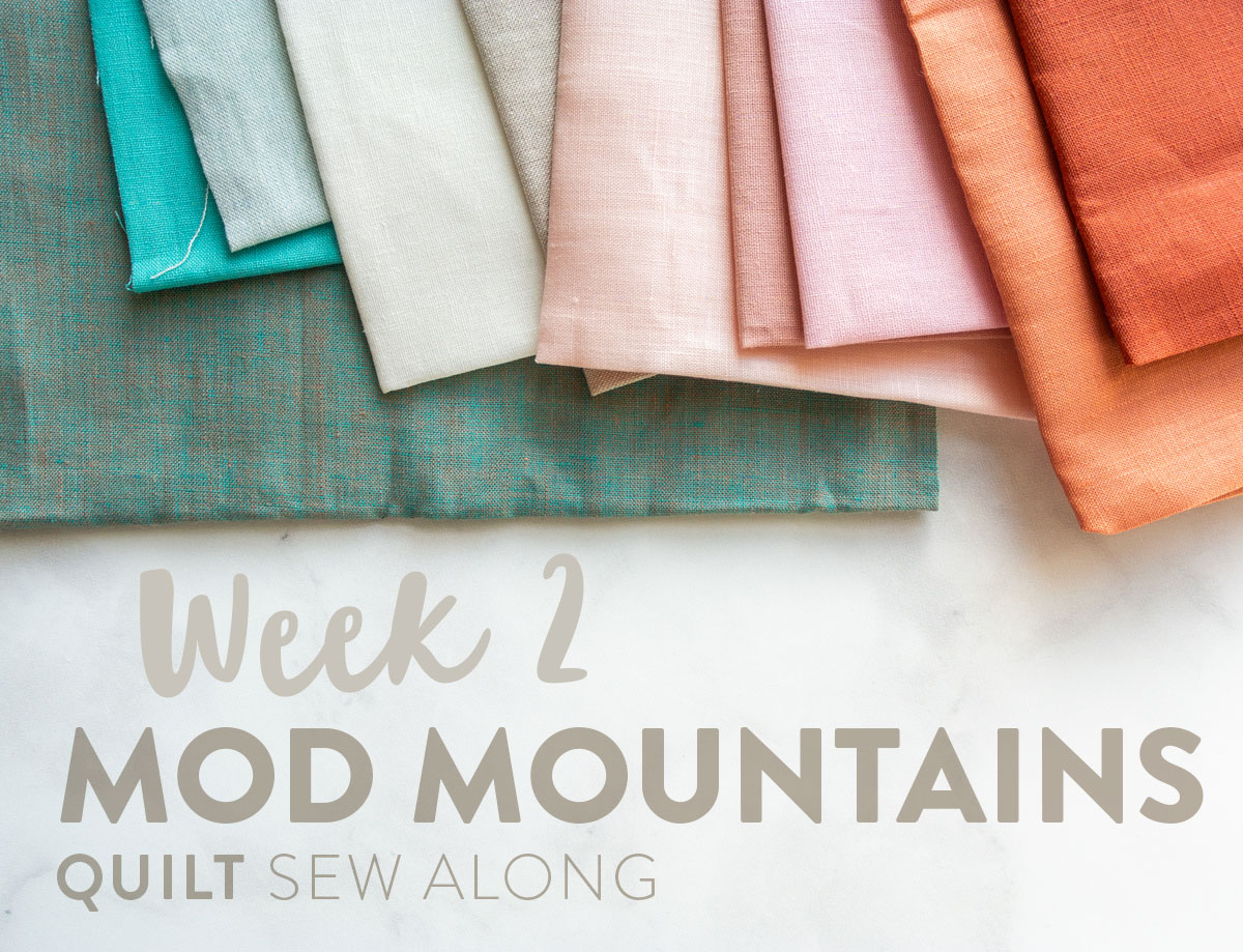 16c3908fd817 Join the Mod Mountains quilt pattern sew along! Learn new quilting skills  and win weekly