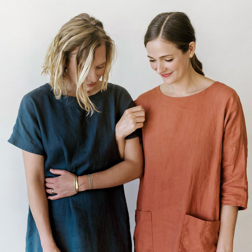Meet the Maker blog series: Jenny Gordy of Wiksten creates simple, elegant, easy to follow garment patterns. Follow this blog series to learn about more pattern writers and artists in the sewing industry. | Suzy Quilts