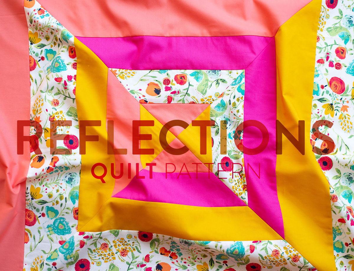 The Reflections Quilt Pattern: A Modern Strip Quilt