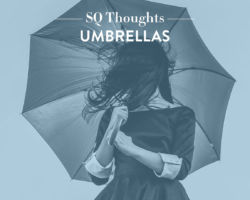 SQ Thoughts on Umbrellas