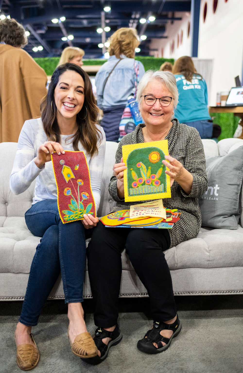 Get the inside scoop on the Houston Quilt Festival through interviews with leaders, crafters and teachers in our quilting community | suzyquilts.com
