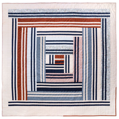 Grow is the first design in a series of four quilts that represent the four seasons in a year, as well as seasons in our lives. It includes fabric requirements and instructions for king, queen/full, twin, throw, and baby quilt sizes. This is an elegant modern medallion quilt. suzyquilts.com
