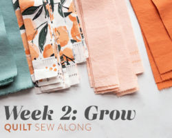 Grow Quilt Sew Along: Week 2: Cutting