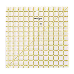 "Omnigrid 12.5"" Square Ruler for Quilting"