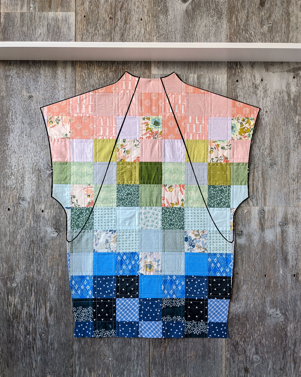 How to sew a quilted coat: tips on choosing fabric, a coat pattern and a quilt pattern plus tips on how to make your coat fit you! suzyquilts.com #quiltedcoat