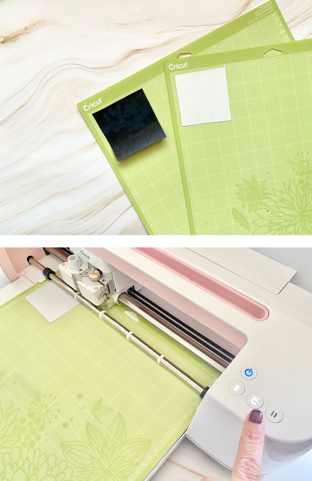 Add some personality to your tailor's clapper with this step by step photo tutorial! Learn everything you need to know to make a personalized tailor's clapper using a Cricut. suzyquilts.com #quilting #sewingdiy
