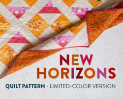 New Horizons Limited-Color Quilt Pattern