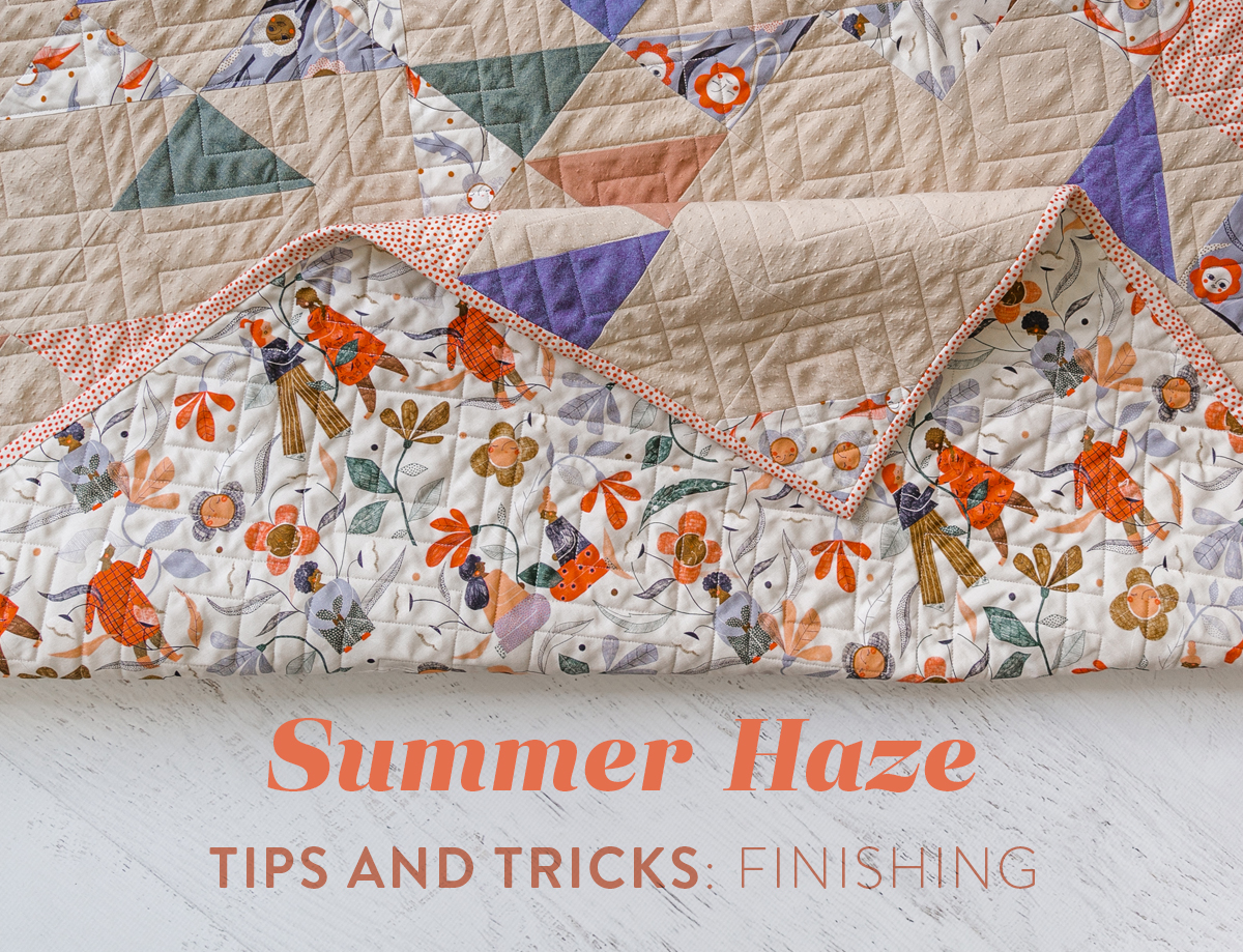 Learn our best tips and tricks for making the Summer Haze quilt pattern in our three part blog series! suzyquilts.com #sewingdiy #quilting